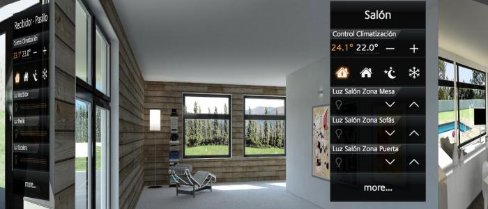 vivienda domotica knx casa domotica control iluminacion climatizacion persianas