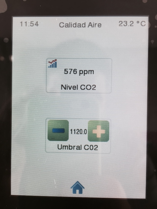 Control climatizacion KNX vivienda pasiva domotica valladolid